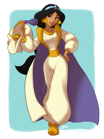 Disney Princesses Swap Costumes with their Princes