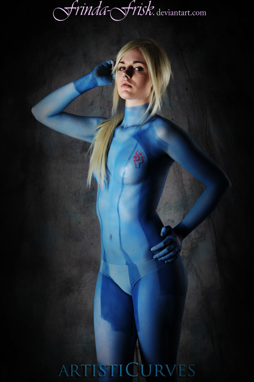 Samus Body Paint