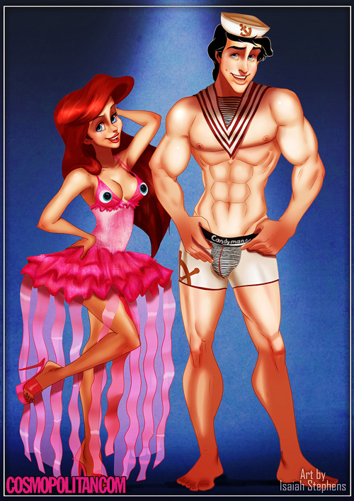 If Disney Princesses Wore Sexy Halloween Costumes