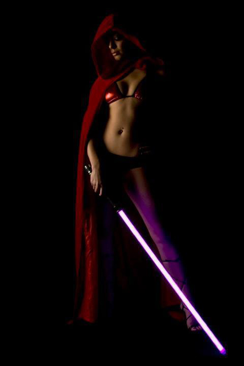 All star wars sexy jedi girls cosplay variants are