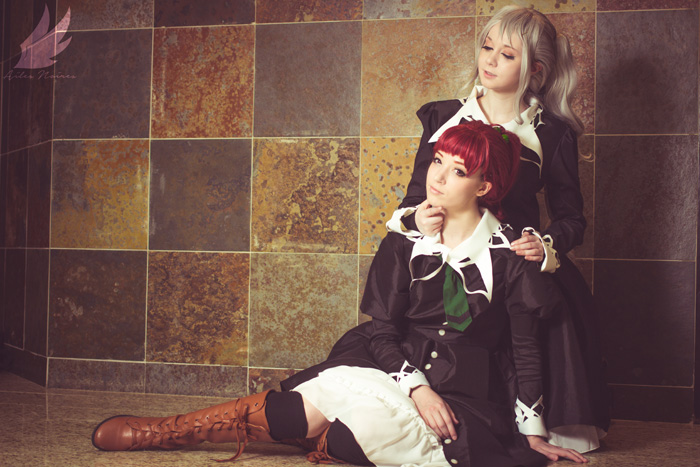 Shizuma Hanazono & Nagisa Aoi from Strawberry Panic Cosplay
