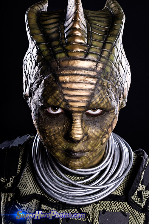 ... Silurian Warrior from Doctor Who cosplay photos featuring Reese