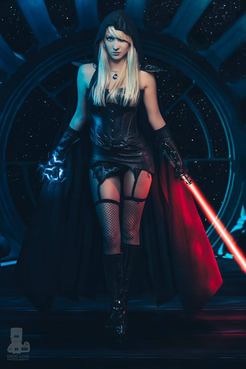 Star Wars Sith Cosplay