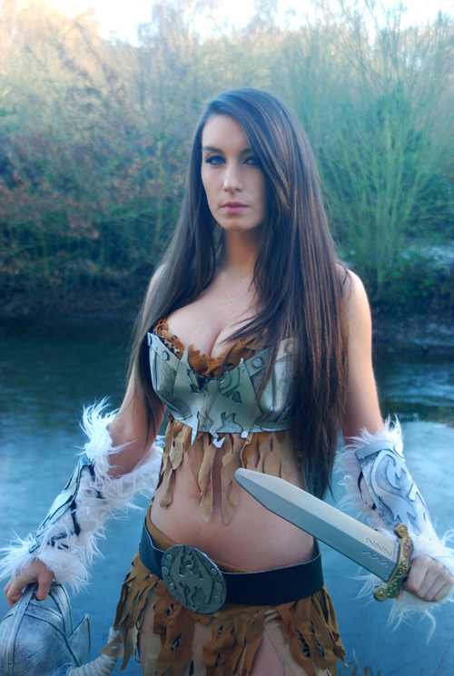 dragonborn girl