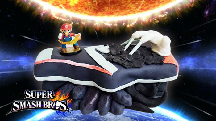 Super Smash Bros Cake