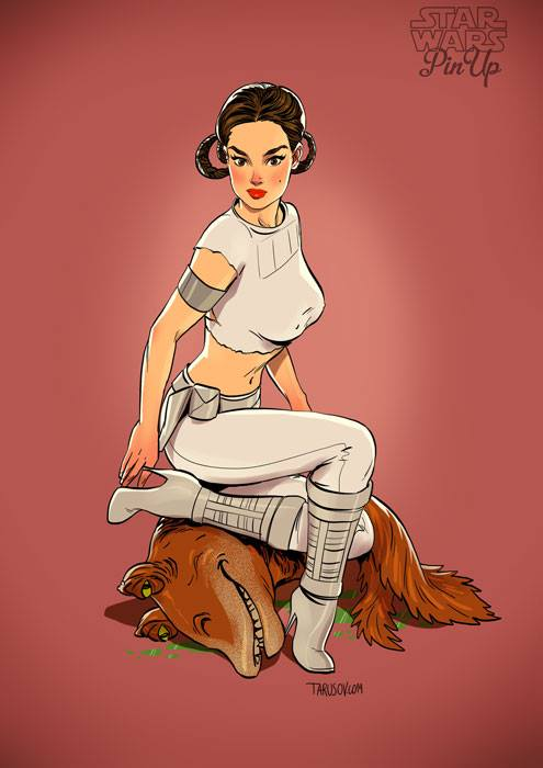 Sexy Star Wars Pinups