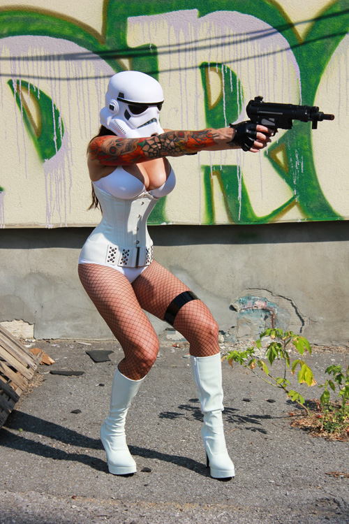 Star Wars Sexy Storm Trooper
