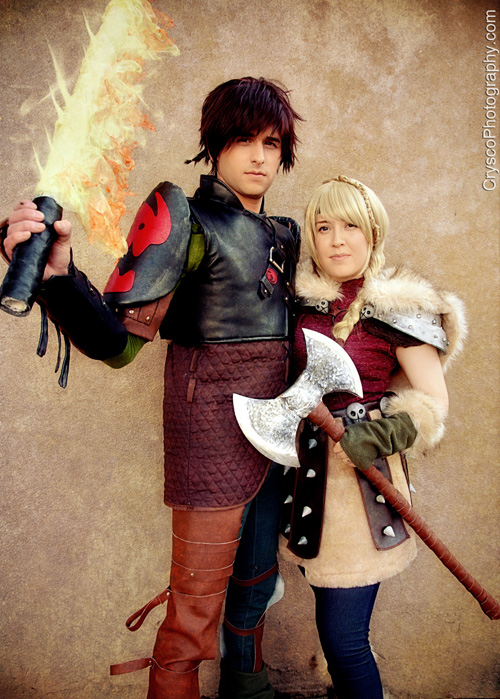 Geek x girls hiccup astrid from how to train your dragon 2 cosplay ccuart Image collections