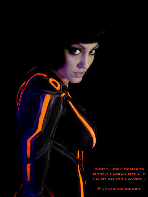 TRON Body Paint