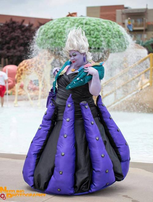 Ursula The Little Mermaid Cosplay