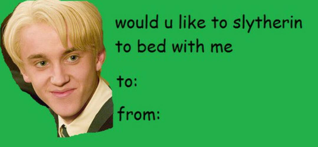 Harry Potter Valentines Cards