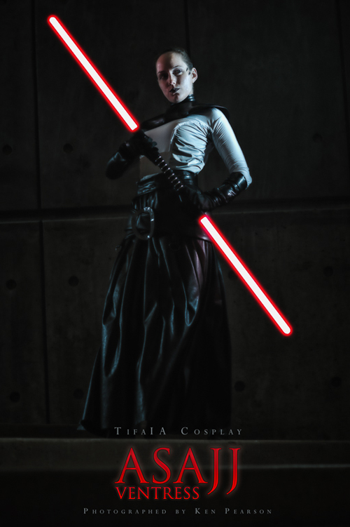 Asajj Ventress Cosplay