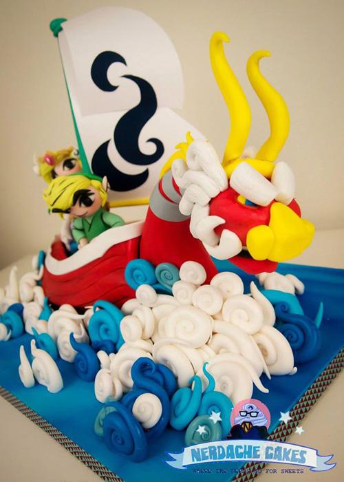 The Legend Of Zelda The Wind Waker Cake